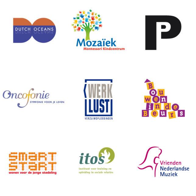 Diverse logo's door Manifesta Grafisch Ontwerpen Rotterdam