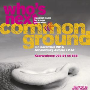 Who's Next Common Ground
